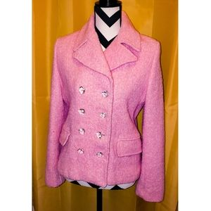 Marvin Richards Double Breasted Light Pink Jacket